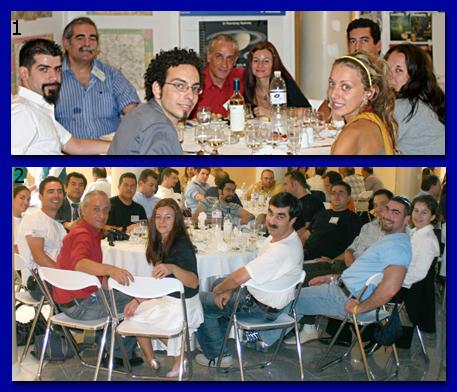 Το τραπέζι του ΣΕΑ με τους φίλους από την ομάδα υπερκαινοφανών