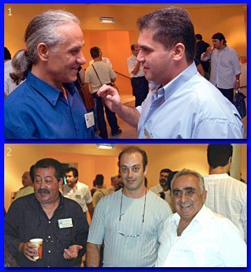 ΕΙκόνες από συναντήσεις των μελών του ΣΕΑ
