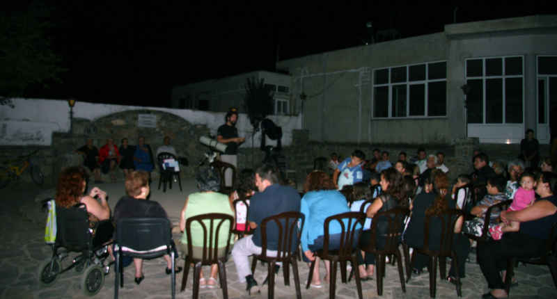 Εκδήλωση ΣΕΑ στις Αλόιδες Κρήτης - ομιλία του Γρηγόρη Μαραβέλια