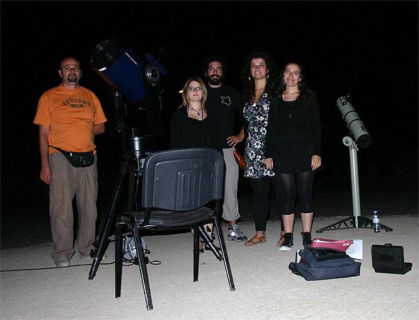 Εκδήλωση ΣΕΑ στις Αλόιδες Κρήτης - μια ομαδική φωτογραφία