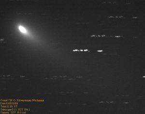 Εικόνα του 73P/Schwassmann-Wachmann-3 (κομμάτι C) στις 3 Μαΐου 2006, από τον Δημήτρη Κολοβό.