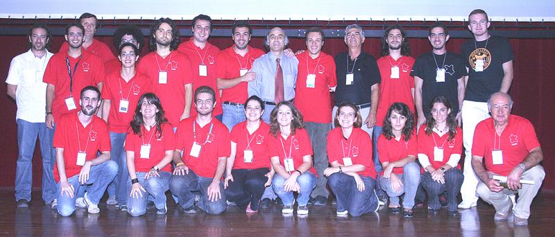 Η εκπληκτική ομάδα, στην οποία οφείλουμε ένα μεγάλο ευχαριστώ για την διοργάνωση του καλύτερου ίσως συνεδρίου από την ίδρυση του θεσμού. (φωτ. Ιάκωβος Στρίκης)