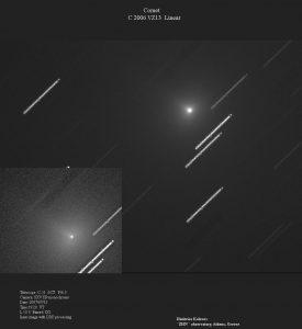 Εικόνα (β) του VZ13 LINEAR στις 12 Ιουλίου 2007, από τον Δημήτρη Κολοβό.